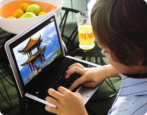 Dell Mini 9 demo
