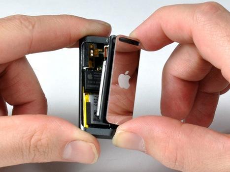 Nuevo Ipod shuffle desarmado