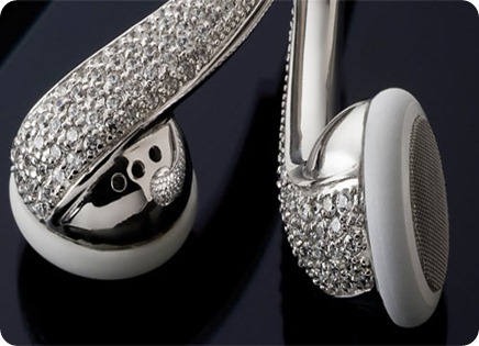 Amosu_Apple_Swarovski_Diamond_Crystal_Earphones_Luxurious_5