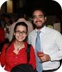 Ana Dominguez e Ian Cocco