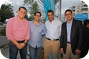 Carlos Estrella, Ronlad Hued, Martin Rivas & José Miguel Clase