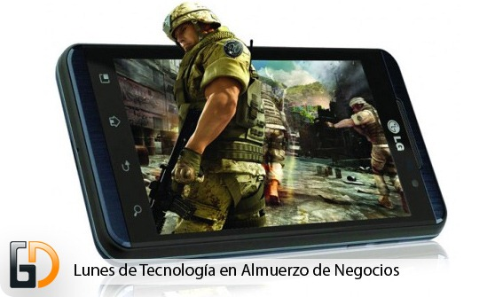 LG Optimus 3D, Primer 3D en Republica Dominicana