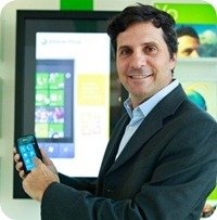 Hernán Lardiez, director de Windows Phone para América Latina.
