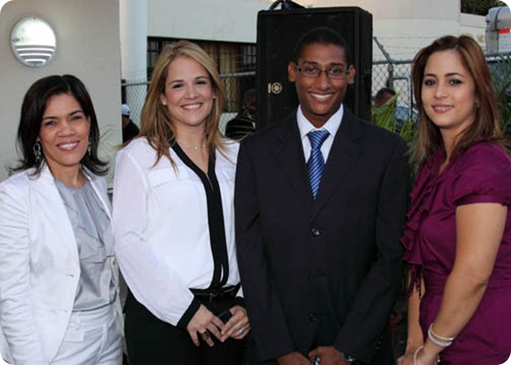 Teresa Arias, Paola Gómez, Jorge Ledesma, Rafaelina Lamarche
