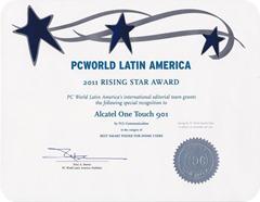premio Alcatel one touch 901