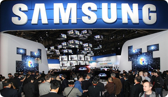 samsung island at CES 2012