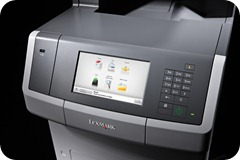 Lexmark X746 and X748 Operation Panel