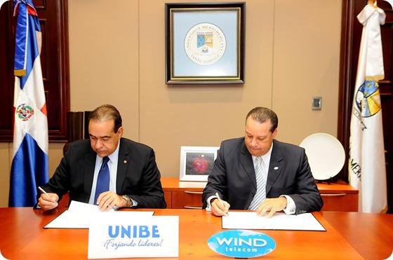 windtelecom y UNIBE