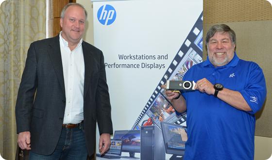 Jeff Wood and  Steve Wozniak