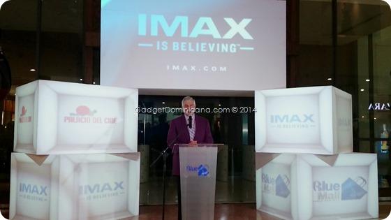 Presidente de IMax para Latinoamericana Miguel Sfeir
