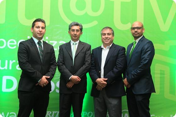 1.Manuel Rodrigues, Arturo Maqueo, Héctor Martínez y Rafael de los Santos