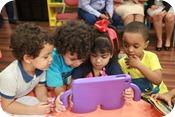 Los niños y niñas podrán estar en contacto con la tecnología de la forma más sana.