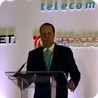 Damián Báez, Gerente General de Wind Telecom,