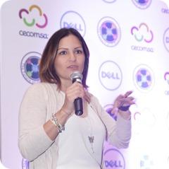 Tania Baquero, Gerente de territorio Dell