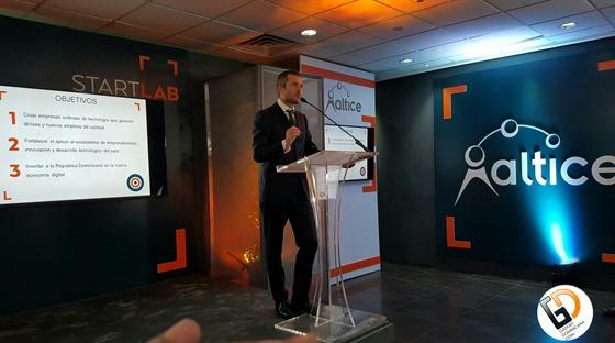 Sr. Martin Roos, CEO de Altice Dominicana