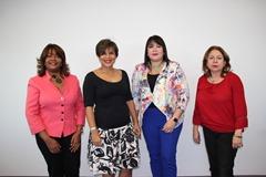 1- Nurys Veras, Claudia García, Sulin Lantigua y María de los Ángeles Romero