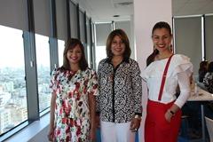Miguelina Váquez, Bethania Luperón y Gilbey Plourde