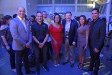 Principal-Eduardo Ferreira, Luis Gálvez, Jazmín Martínez, Ricardo Viezca, Ángelica Abreú y Luis Espinosa.