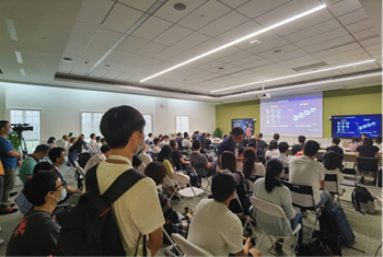 Foto para la Tech. Sesión de la Plataforma de Mapas
