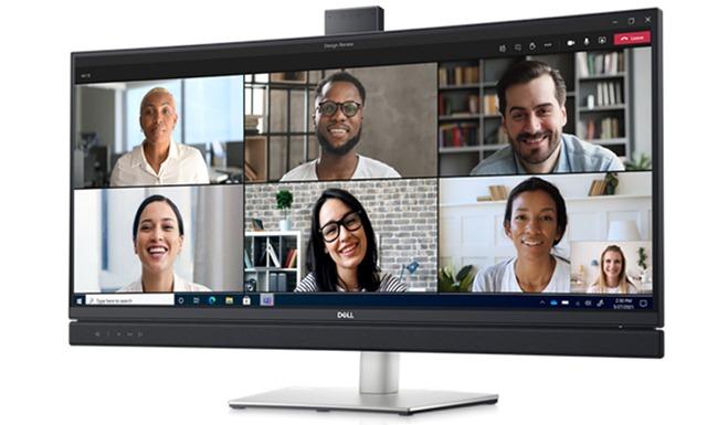 dell videoconferene monitor